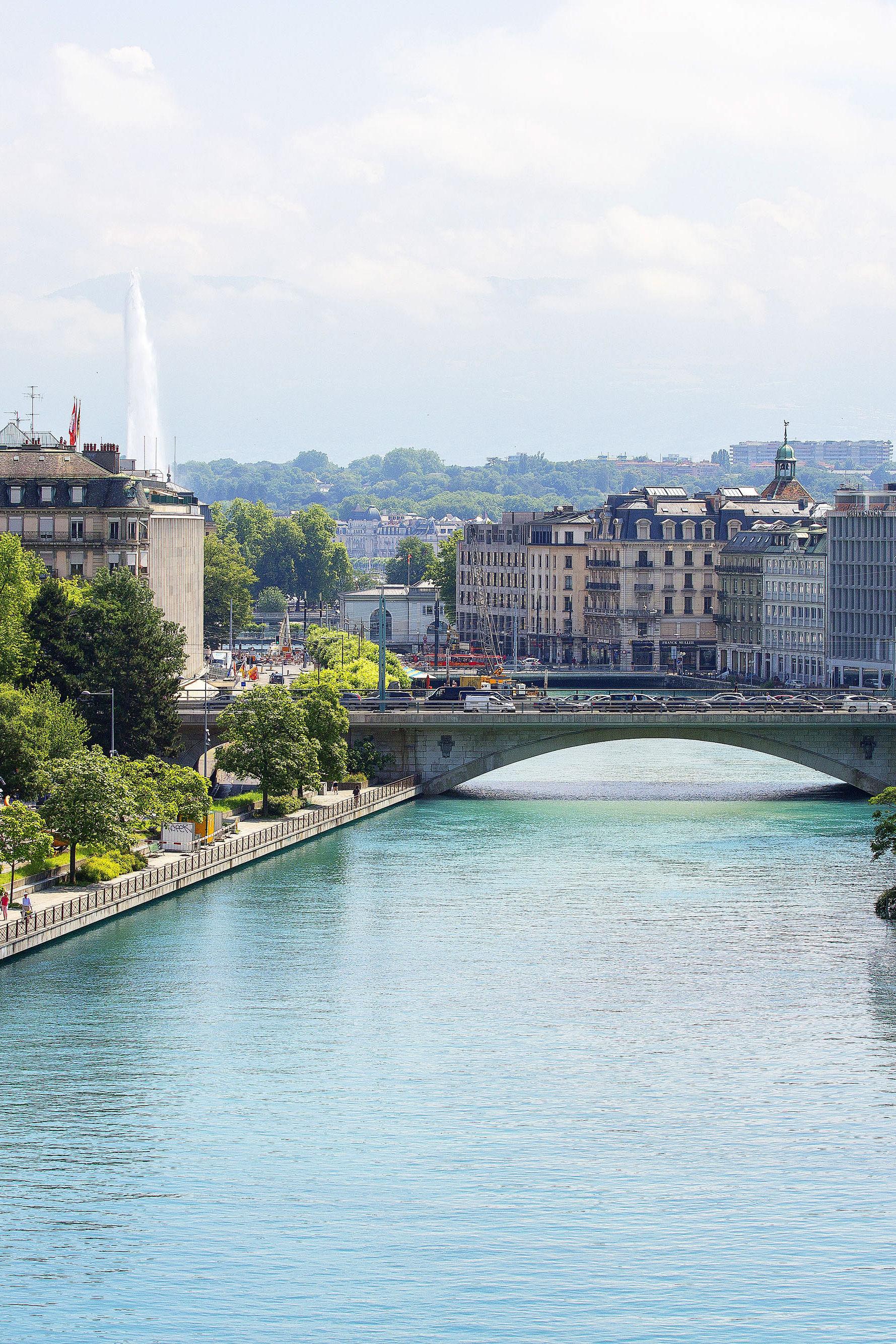Geneva campus building
