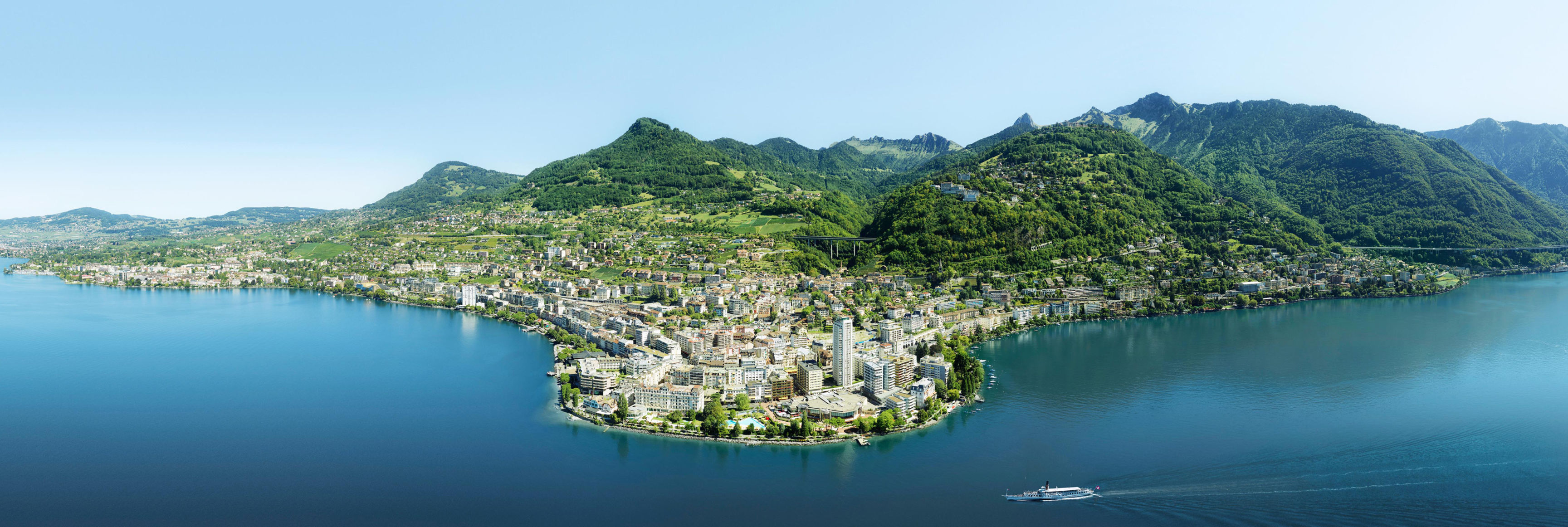 Montreux city